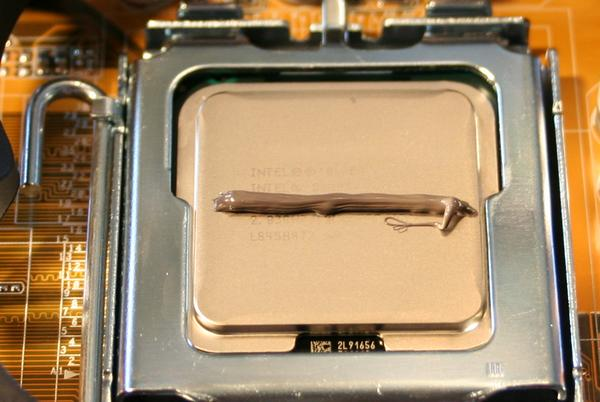 CPU cooling grease