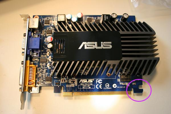 Example of a Video Card