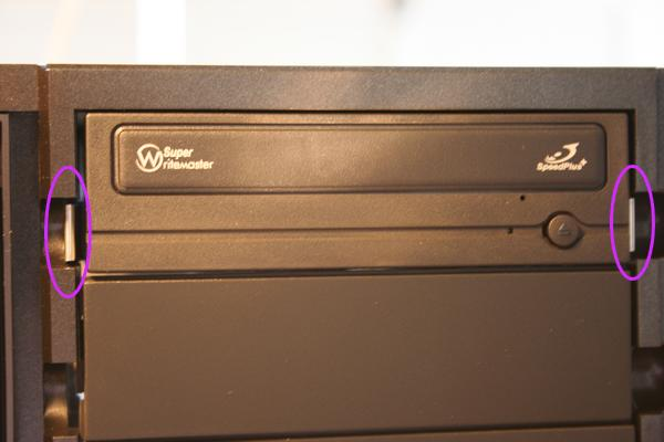 installed DVD player